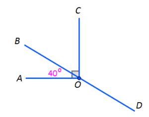 test geometrie clasa 6 unghiuri