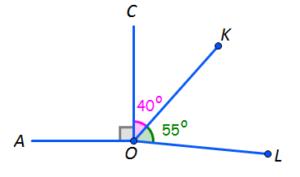 test unghiuri clasa 6 geometrie